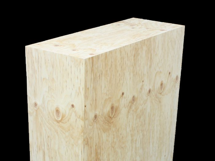 Custom plinth Pine