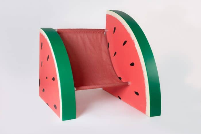 Fruit install Watermelon chair