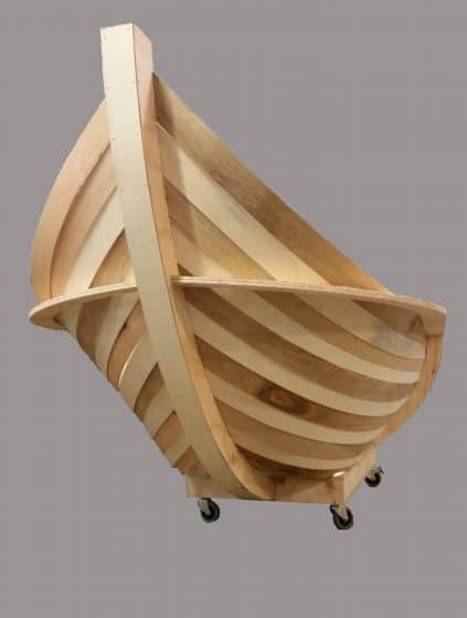 Timber boat